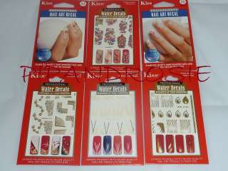 PROFESSIONAL WATER DECALS NAIL ART TRANSFERS NEW MORE IN SHOP