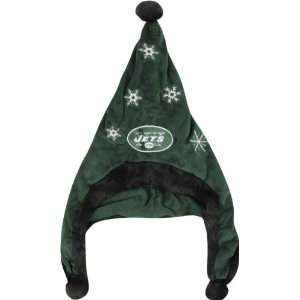 New York Jets NFL Official Team logo Stadium Dangle Santa Hat *NEW