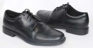 Mens Rockport Evander Black Lace Up Dress Shoe 11.5