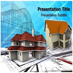PowerPoint Template   Backgrounds PowerPoint Templates House Making