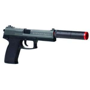 Crosman Stinger P312 Spring Airsoft Pistol  Black Sports