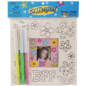 New   Craft n Play Frame Kit Best Friend Forever   663755