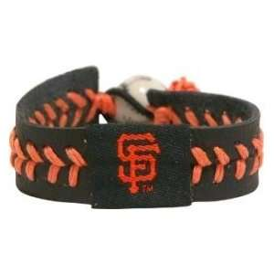 San Francisco Giants Baseball Bracelet   Team Color Style