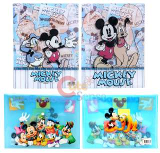 Disney Mickey Mouse Friends File Folder Stationery 2