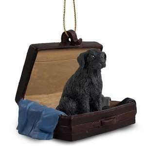 Flat Coated Retriever Traveling Companion Dog Ornament