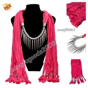 Fashion jewelry Scarves pashmina cotton necklace lady Scarf Shawl Wrap