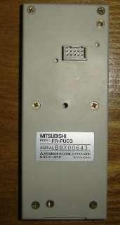 Mitsubishi Parameter Unit FR PU03