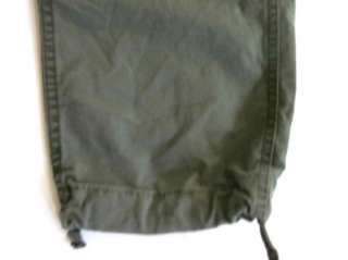 RRL RALPH LAUREN military parachute cargo pants 25 NWT
