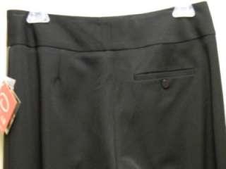 OSCAR Black Slacks Womens Dress Pant Misses NWT$89
