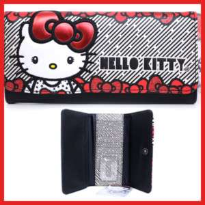 Sanrio Hello Kitty Wallet Big Red Bows  Loungefly