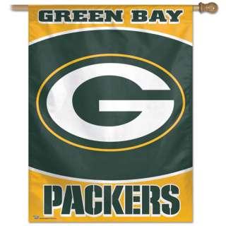 BIG* TEAM HOUSE BANNER FLAG GREEN BAY PACKERS FOOTBALL