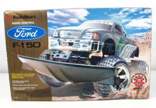 Radio Shack FORD F 150 4WD RC Truck w/Box 18 Scale