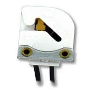 Medium Base Bi Pin Butt On Fluorescent Lampholder