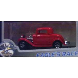 Eagles Race 1210 1932 Ford Street Rod Coupe   Red   143