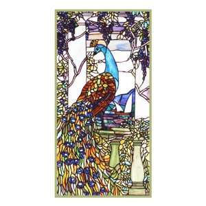 Louis Comfort Tiffany Counted Cross Stitch Chart from Watercolor: Arts