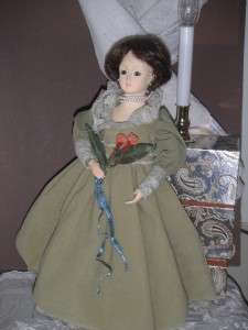 now free franny store early victorian style shoulder plate lady doll