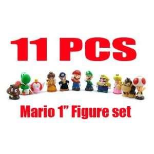 Nintendo SUPER MARIO BROTHER Figure 11pcs of set Office