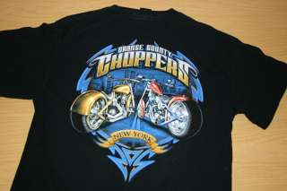 Orange County Choppers New York T Shirt L Motorcycle Bike Biker