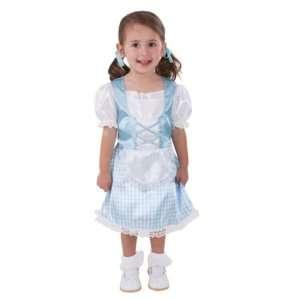 Storybook Sweetheart Halloween Girls Blue Dress Costume