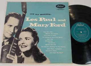 LES PAUL & MARY FORD The Hit Makers 1953 12 mono LP