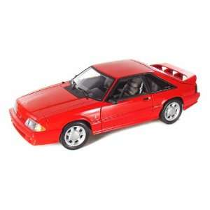 1993 Ford Mustang Cobra 5.0 1/18 L/E Red: Toys & Games