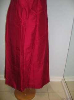 Pink Dress on Olian Maternity Dark Pink 100  Silk Maternity Dress Nwot Medium Was