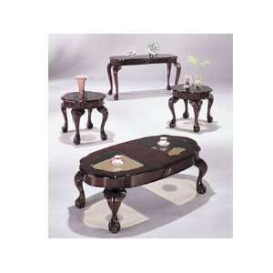 Oval 3pc Coffee/End Table Set #AC 018195: Furniture & Decor