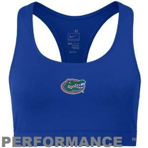 Nike Florida Gators Ladies Royal Blue Dri FIT Sports Bra