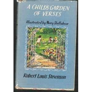 Garden of Verses: Robert Louis Stevenson, Mary Shillabeer: Books