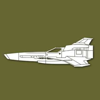 Viper Mk 2 Battlestar Galactica Vinyl Sticker VSVM2S