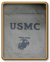 WW2 US Marine Corps P41 HBT Utility Shirt M (42R)