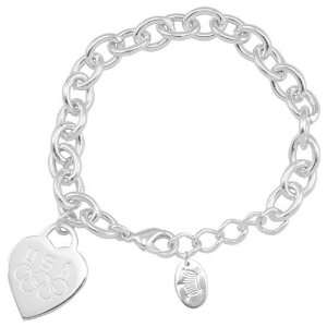 USA Olympic Team Heart Tag Bracelet