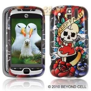 Koi Skull Premium Designer Hard Protector Case For HTC MYTOUCH SLIDE