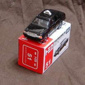 Tomy Tomica No.51 Toyota Crown Comfort Taxi Diecast Car