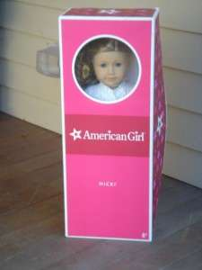 American Girl Nicki Doll MIB Nikki Girl of the Year 2007 in Original