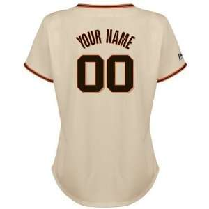 San Francisco Giants Womens Replica Home Personalized