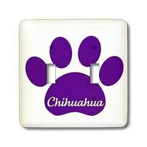 Patricia Sanders Creations   Purple Chihuahua Paw  Pets
