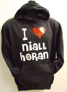 Niall Horan black hoodie One Direction Age 14 15 years