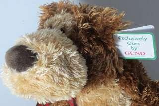 BROWN TEDDY BEAR PLAID BOW Stuffed Plush Animal NEW NWT 46129