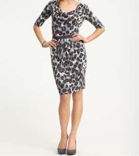 Banana Republic Cowlneck Animal Print Dress NWT Various Sizes