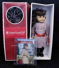 AMERICAN GIRL SAMANTHA 18 DOLL