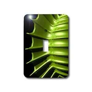 Perkins Designs Nature   Green Tips shows a macro view up close of an