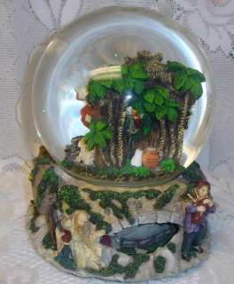 Special Times Christmas Nativity Music Snow Water Globe Motion Base