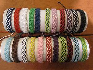 hemp braided bracelet, wristband, friendship bracelet. buy 2 get 1
