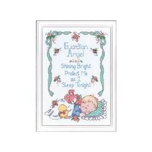 Guardian Angel Counted Cross Stitch Kit: Office Products