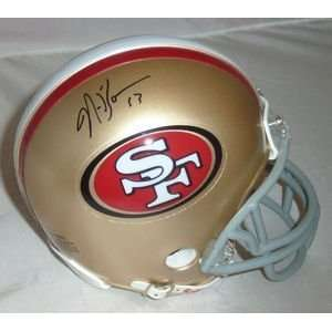 NaVorro Bowman Autographed/Hand Signed San Francisco 49ers Riddell