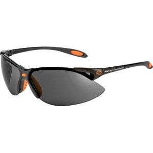 NEW Harley Davidson HD1201 Safety Glasses   Gray Lens 603390125966