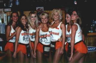 TANK 100% AUTHENTIC TANK WORN BY A REAL SEXY HOOTERS GIRL MESQUITE, TX
