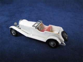 Vintage Matchbox #10 MOY 1928 Mercedes Benz Diecast Car