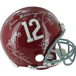 Steiner Sports NFL Alabama Crimson Tide Legends 5 Sig Helmet
